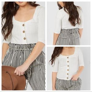 Free People Central Park Ribbed Cardi